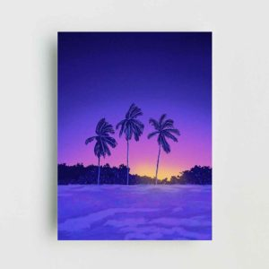 Beach Sunrise Landscape Poster