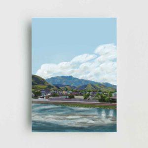 Japanese Landscape Poster