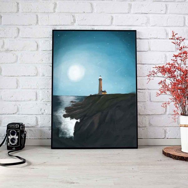 Lighthouse Framed Poster