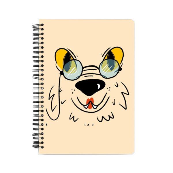 Studious Dog Spiral Notebook