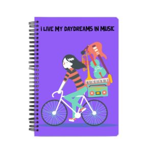Daydreams in Music Spiral Notebook
