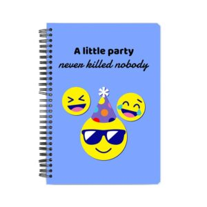 A Little Party Spiral Notebook