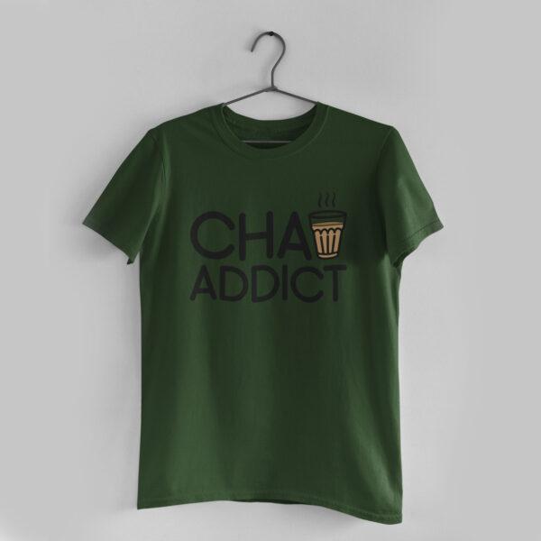 Chai Addict Olive Green T-Shirt