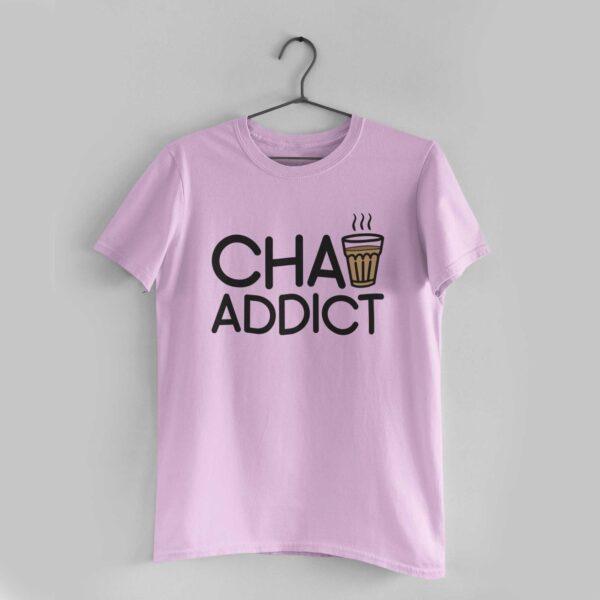 Chai Addict Light Pink T-Shirt