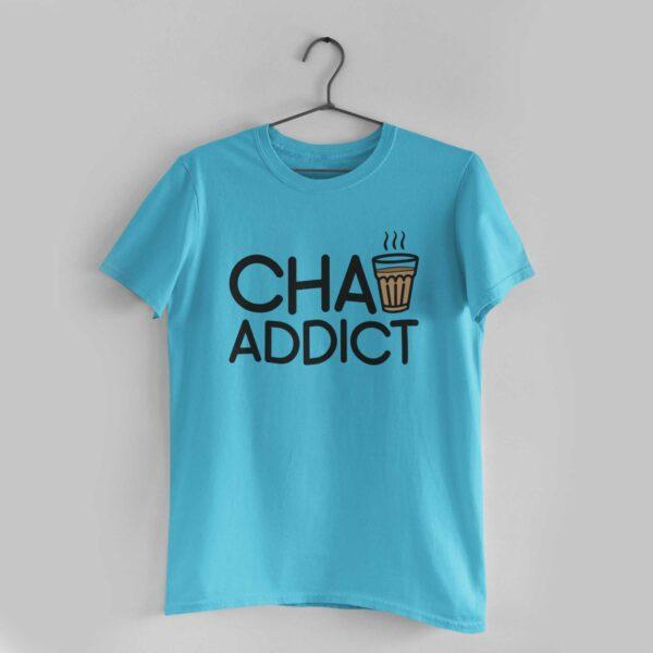 Chai Addict Sky Blue T-Shirt