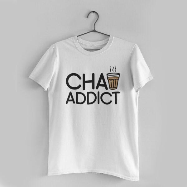 Chai Addict White T-Shirt