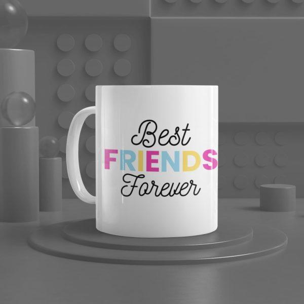 Best Friends Forever White Ceramic Mug