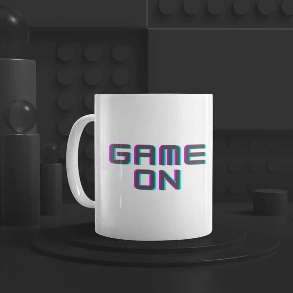 Game On Ceramic Mug