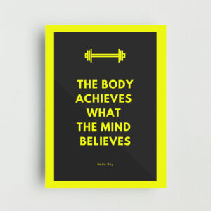 Body Achieves Non Framed Poster