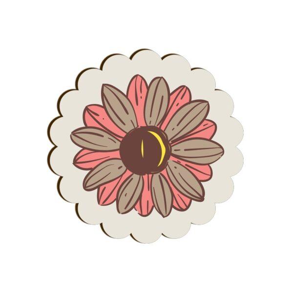 Flower Scallop Coaster