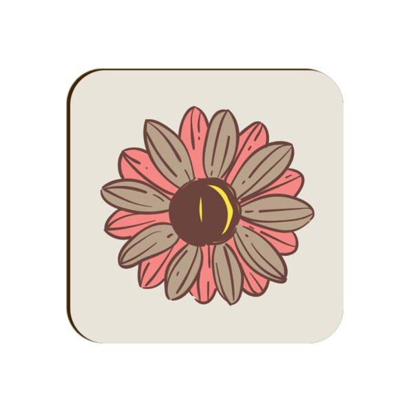 Flower Square Coaster