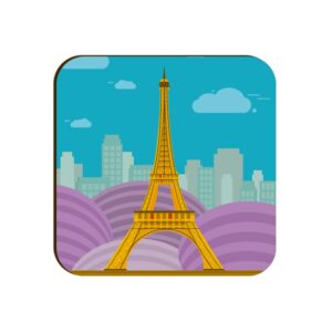 Eiffel Tower Square Coaster