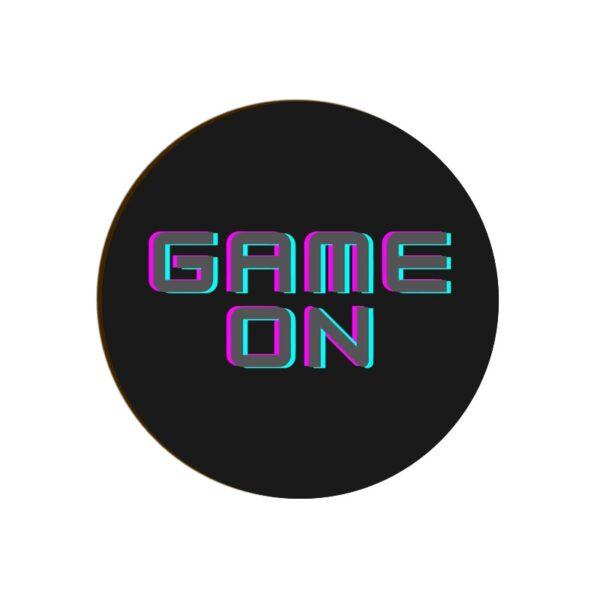 Game On Round Coaster