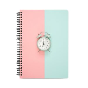 Alarm Clock Spiral Notebook