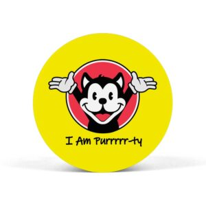 I Am Purrrrr-ty Pop Grip