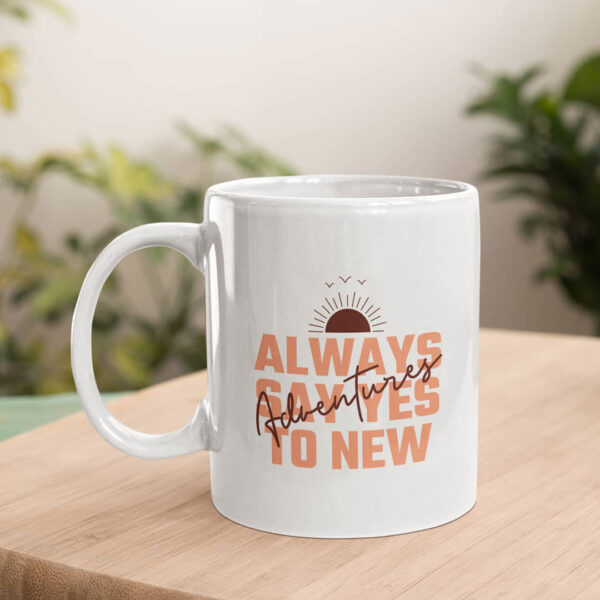 Adventures Ceramic Mug