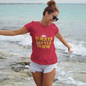 Adventures Women Round Neck T-Shirt