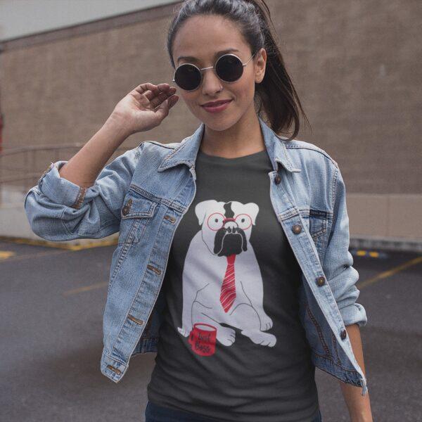 Best Boss Women Round Neck T-Shirt