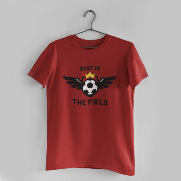Best in the Red Round Neck T-Shirt