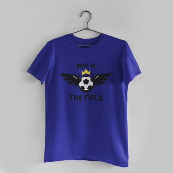 Best in the Royal Blue Round Neck T-Shirt