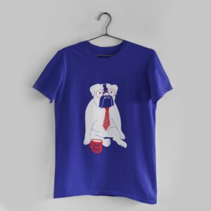 Best Boss Royal Blue Round Neck T-Shirt