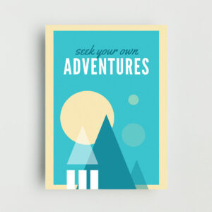 Adventures Non Framed Poster