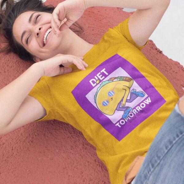 Binge Today Women Round Neck T-Shirt