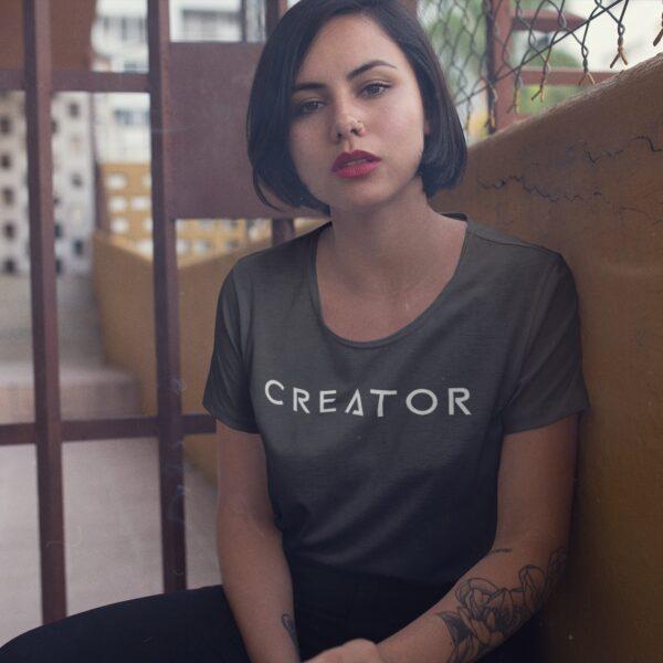 Creator Women Round Neck T-Shirt
