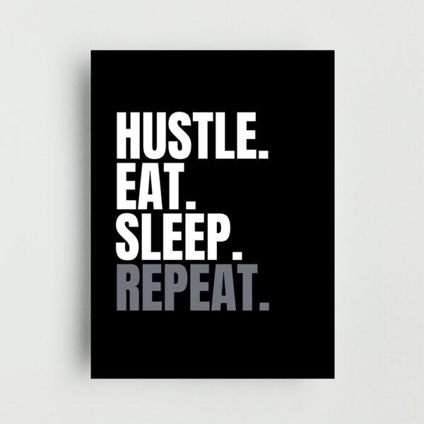 Hustle Non Framed Poster