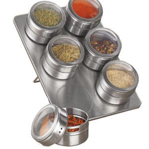 Magnetic Spice Rack Spice Set (6 Pcs)