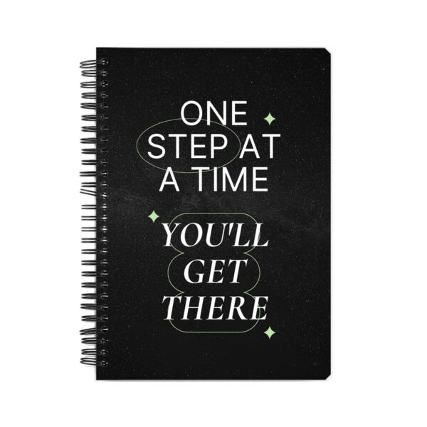 You'll Get There Spiral Notebook