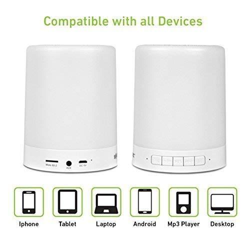 Touch Lamp Portable Speaker