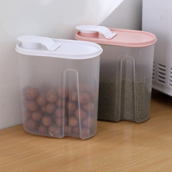 2600 Ml Plastic Cereal Dispenser