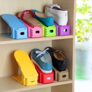 4 Pcs Shoe Stand (Random Colors)