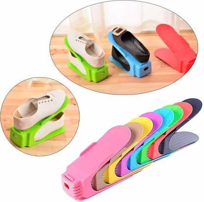 4 Pcs Shoe Stand (Random Colors)