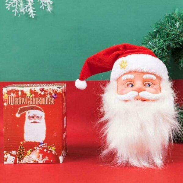 Cute Funny Santa Claus Dancing Little Doll