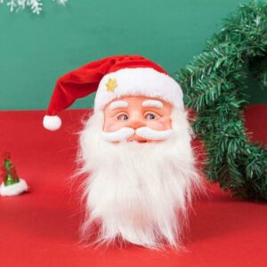 Cute Funny Santa Claus Dancing Little Doll