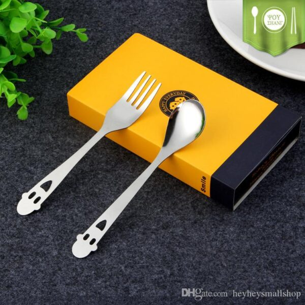 Happy Everyday Spoon And Fork Set