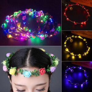 LED Floral Tiara