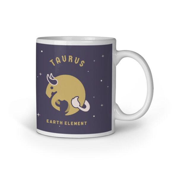 Taurus Ceramic Mug
