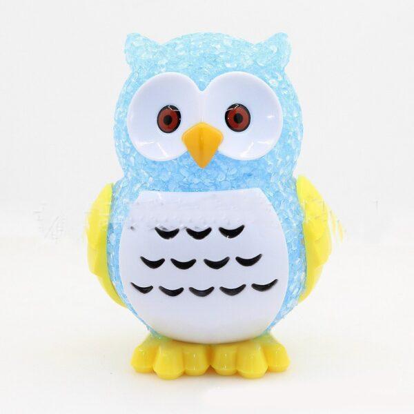 Owl Colorful LED Toy Light