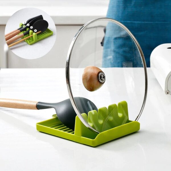 Plastic Oil Spill Spoon Resting Tray