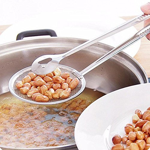 Stainless Steel Oil Frying Filter Tong