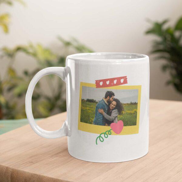 Polaroid Personalized Ceramic Mug