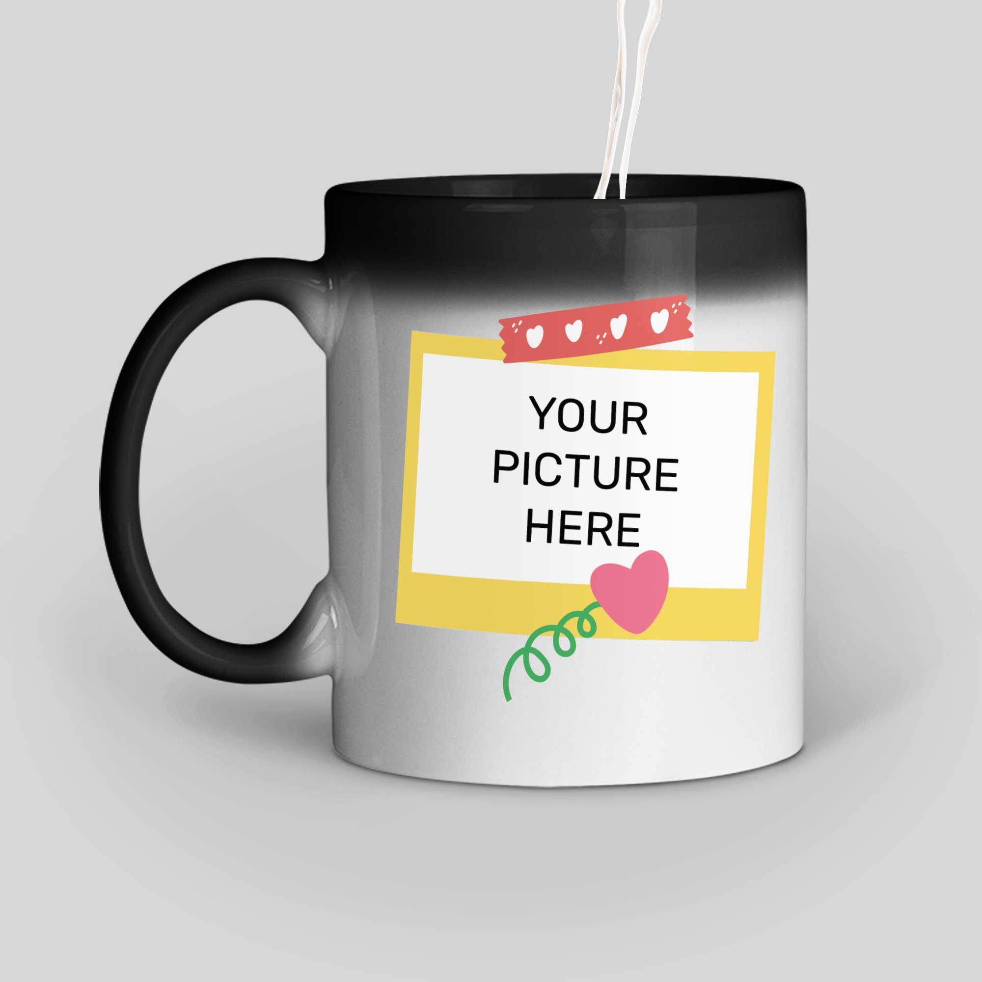 Polaroid Personalized Magic Mug Left Side