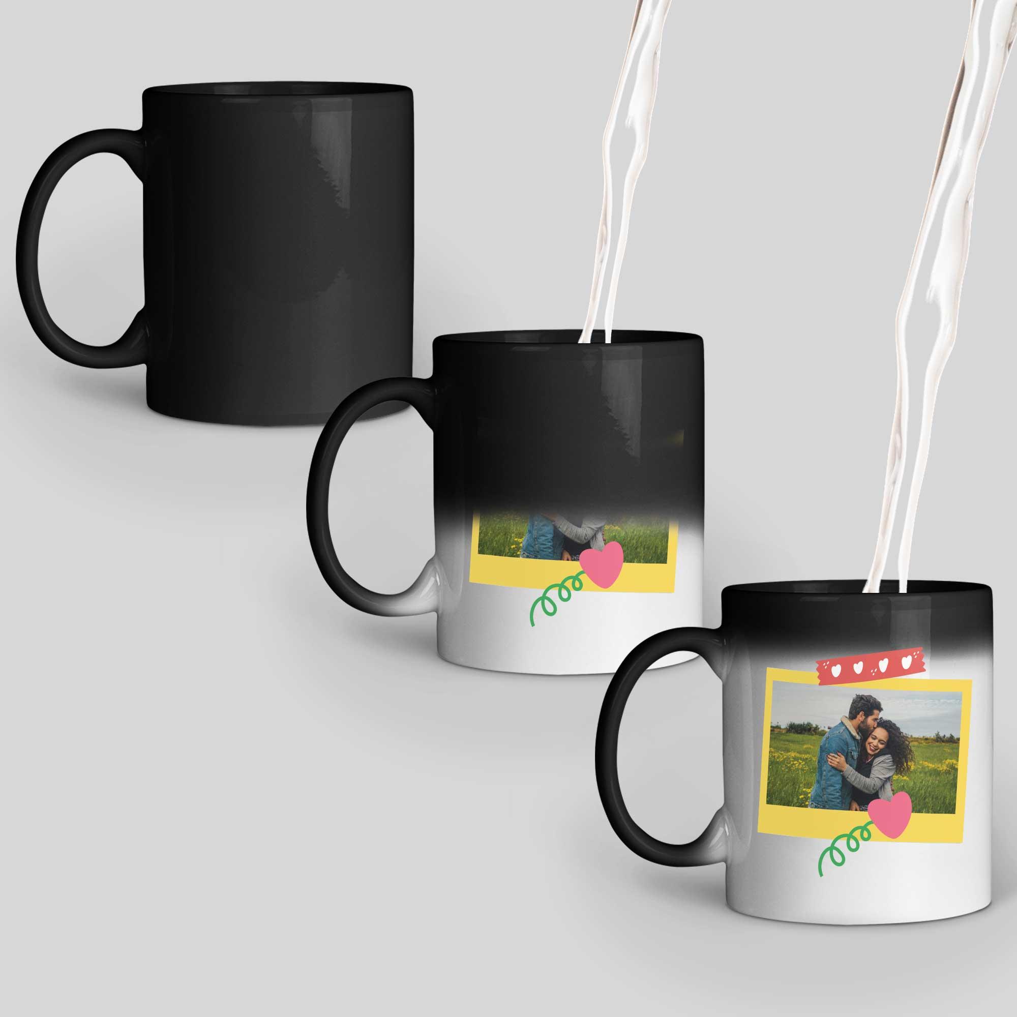 Polaroid Personalized Magic Mug