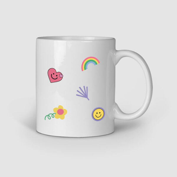 Polaroid Personalized Ceramic Mug Right Side