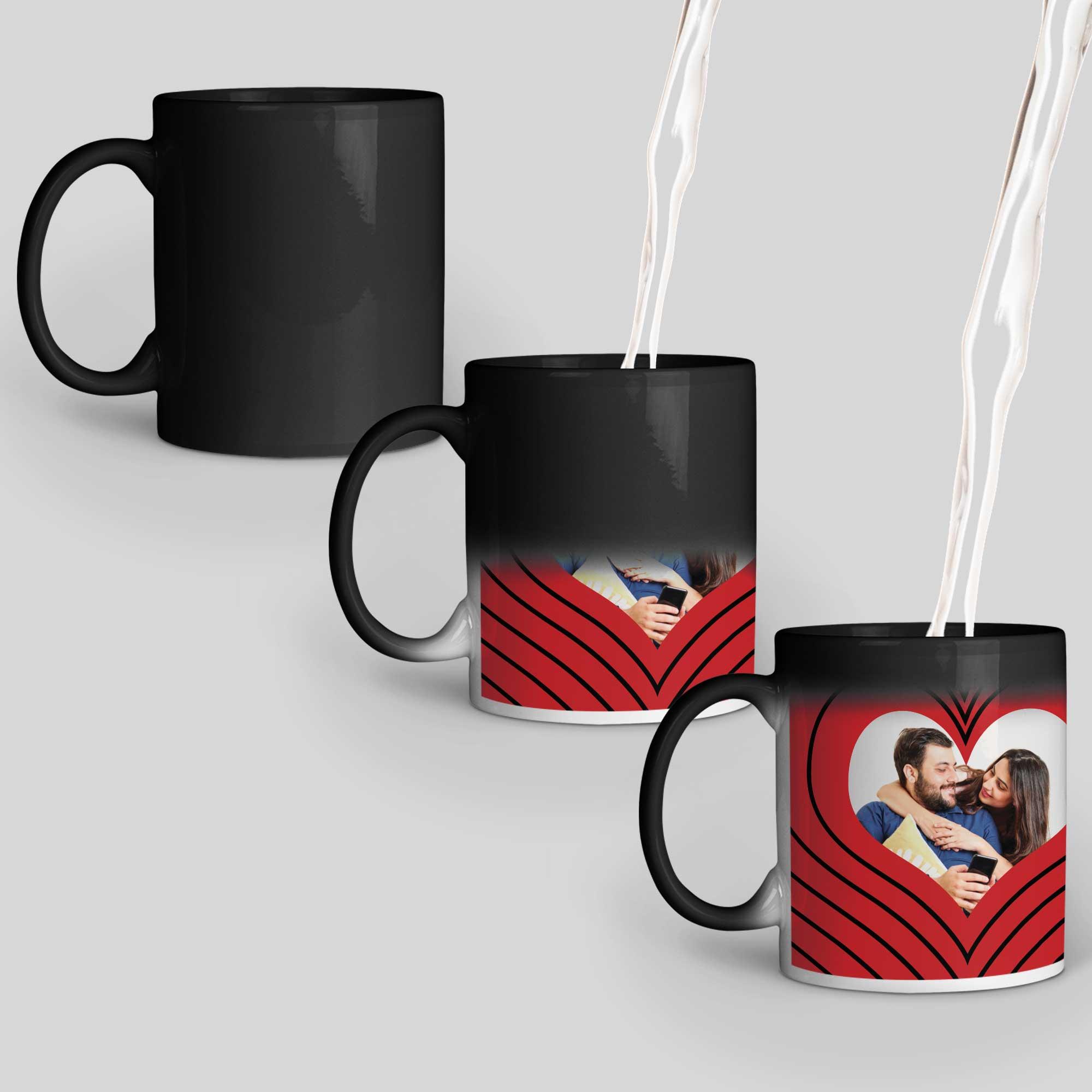 I Love You Personalized Magic Mug