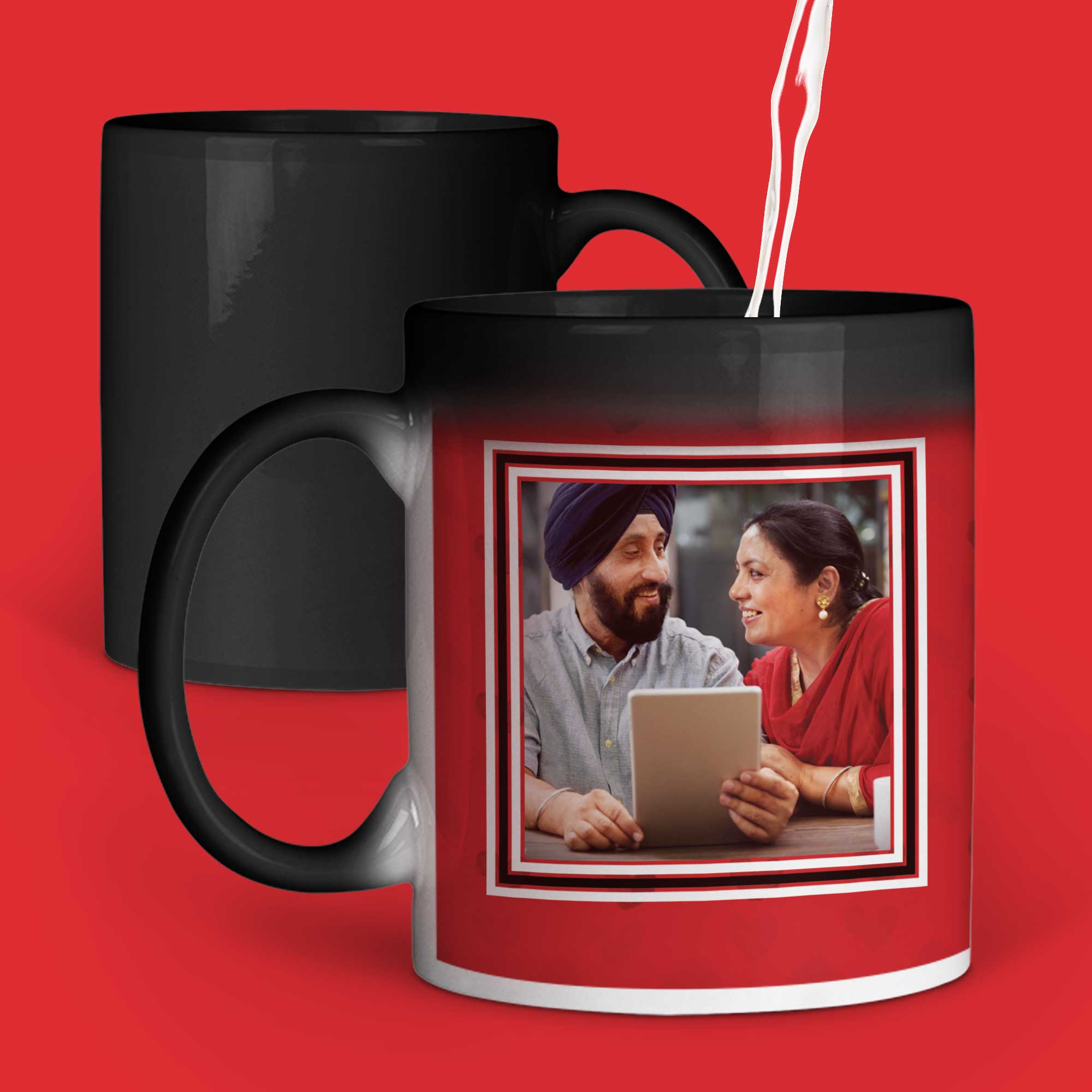 Happy Anniversary Personalized Magic Mug