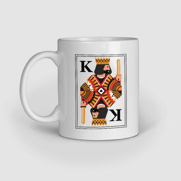 King Ceramic Mug